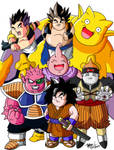 DBZ: Debu Senshi -Colored-