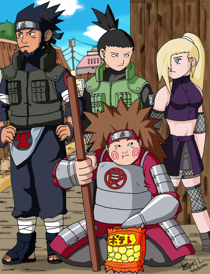 Team 10 - L.F.T. Colored by SentouRyoku