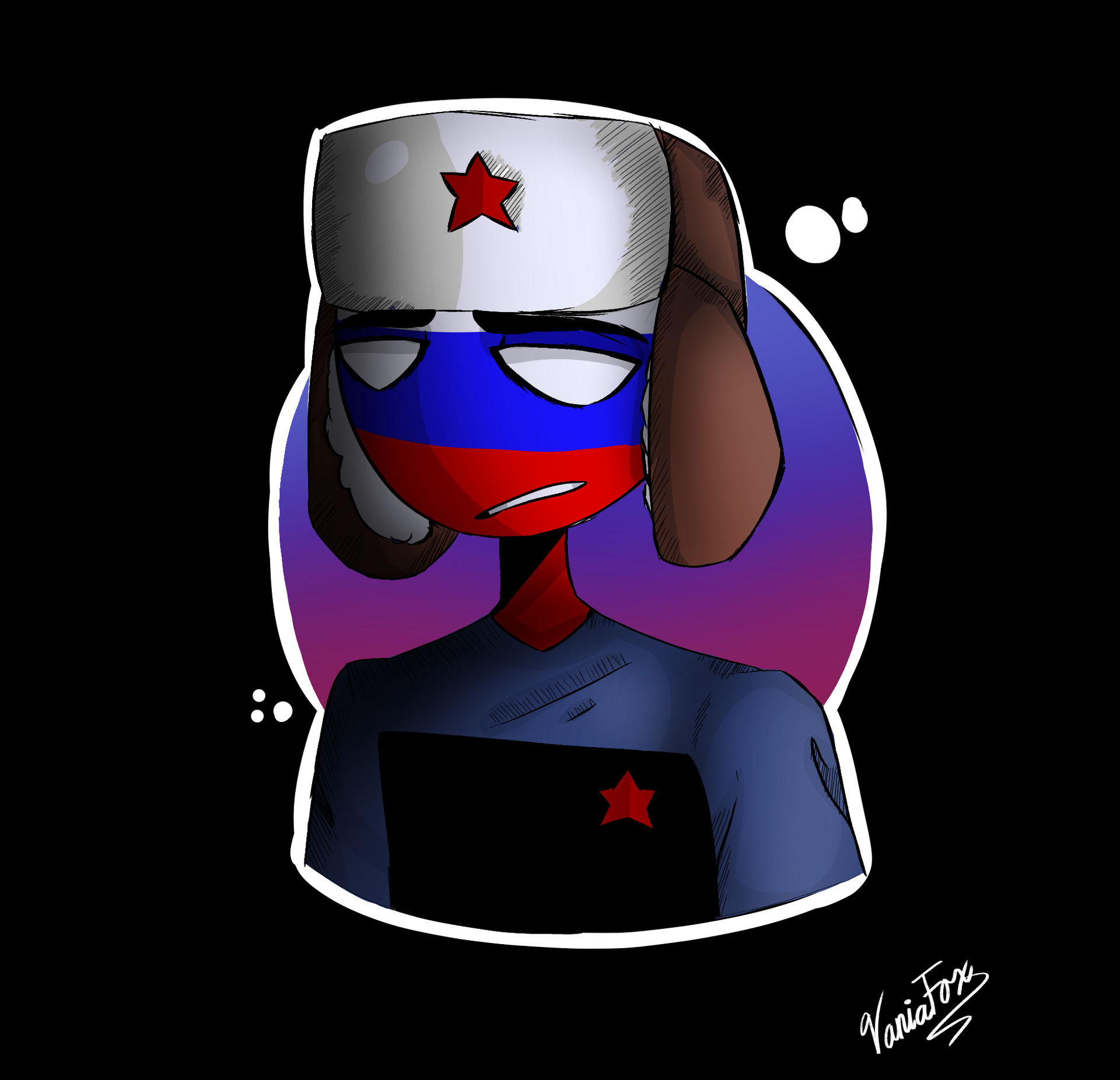 (Countryhumans) Russia by VaniaFox on DeviantArt