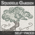 Squiggle Garden Challenge: Large Button by Etiki