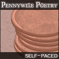 Pennywise Poetry Challenge: Large Button by Etiki