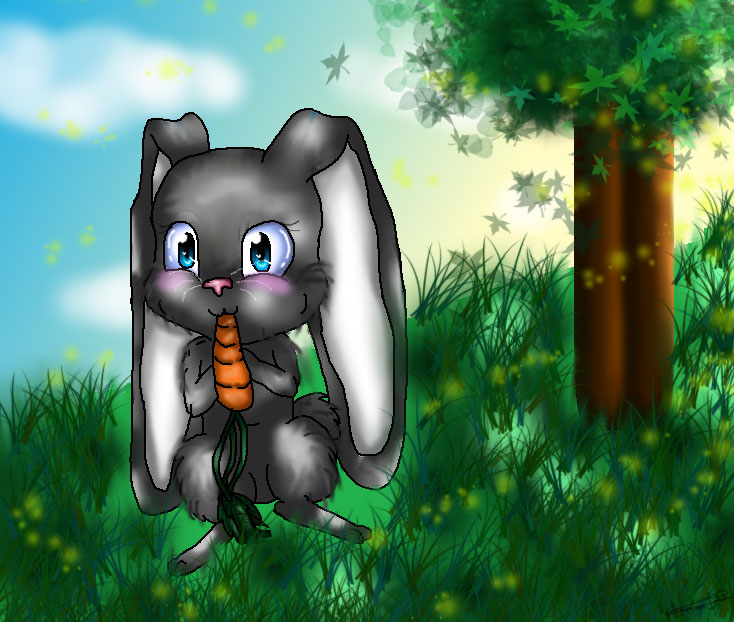 Bunny Fluffy by FireCats3
