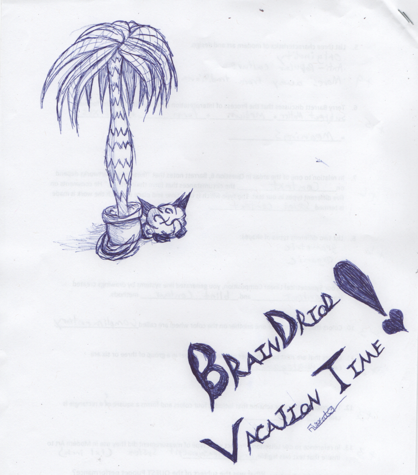 Braindriod Vacation Time by FireCats3