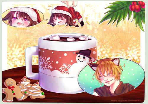 .: [Comm] YCH Christmas #3 - M-ar :.