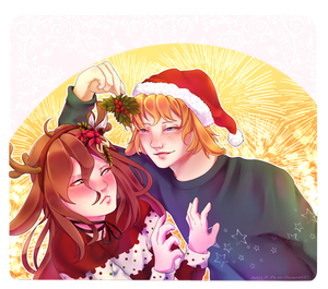 .: [COMM] YCH Christmas #1 -AoiSakakibaraEldarya:.