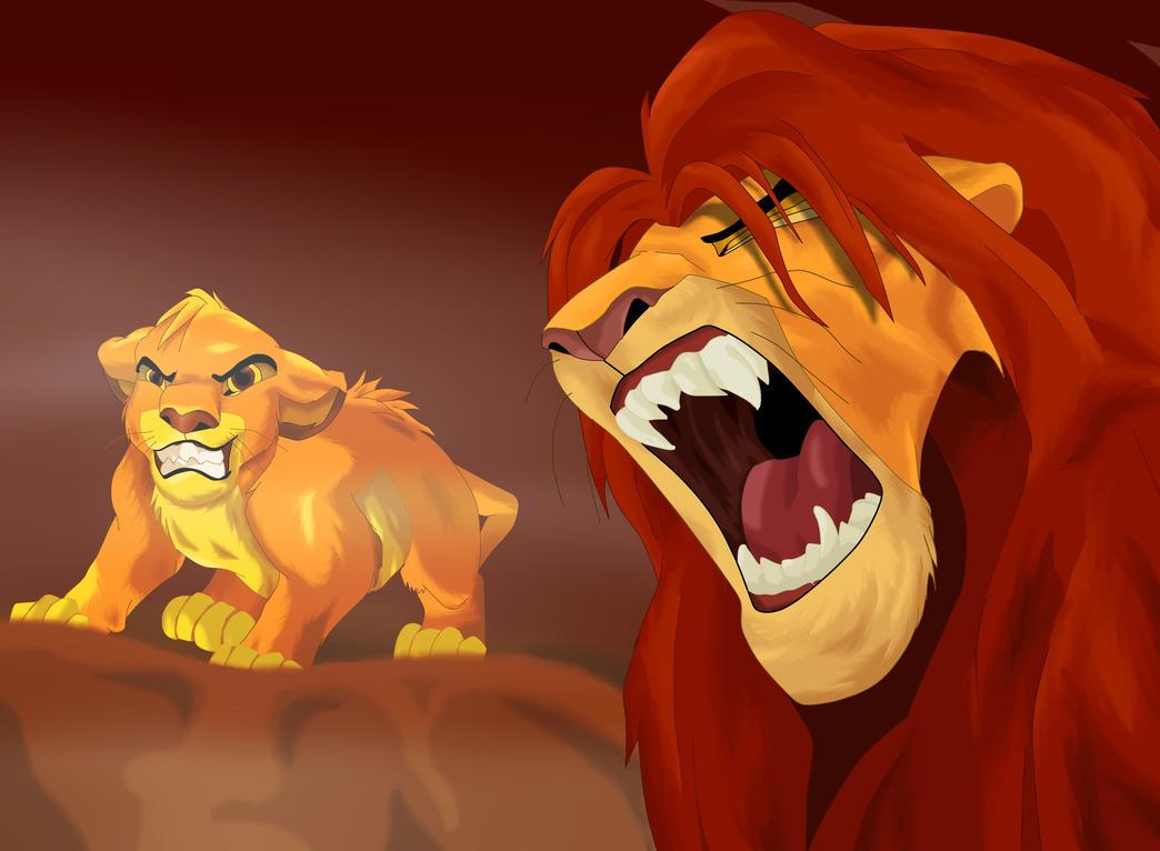 Lion King Mufasa Roaring