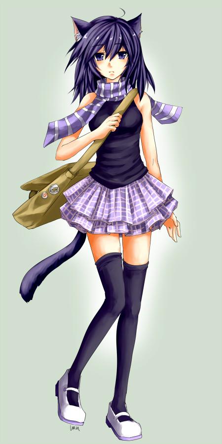 purple by urusai-baka