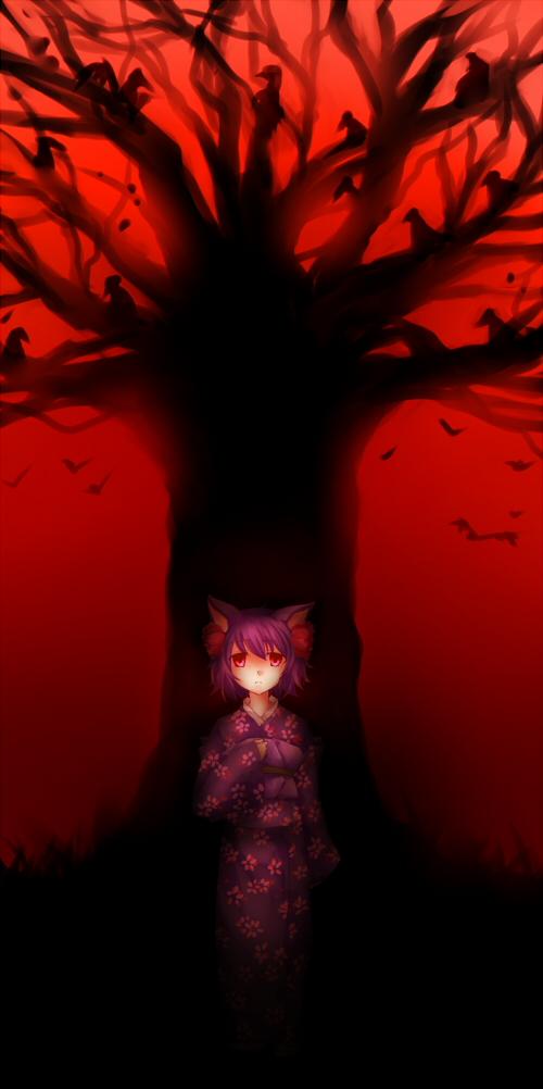 old cherry tree by urusai-baka