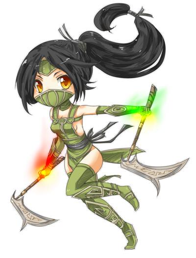 She who dances in the Shadows! (Akali Fanart thread!)