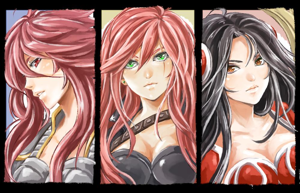 LoL Ladies by urusai-baka