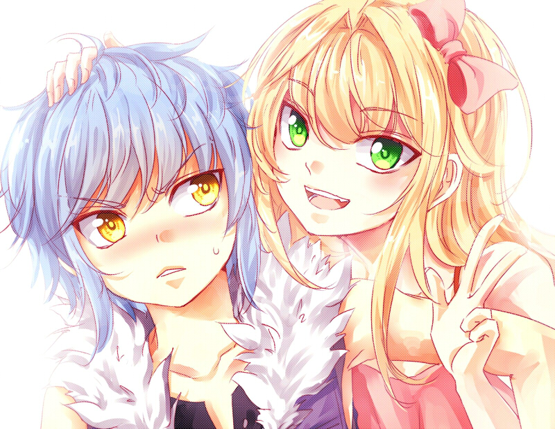 Unordinary Backgrounds: Blue And Kysa By Urusai-baka On DeviantArt