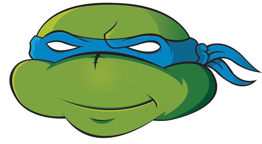 ninja turtle head leonardo by mr frisky on deviantart rh mr frisky deviantart com