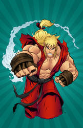 Ken Masters Kolor by Mr-Frisky