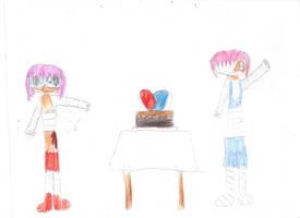 Bandaged Friendship: Chorena and Renenet by OriLance97