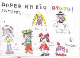 Paper Mario Otaku Partners by OriLance97