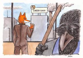 Fox by Pierre-Blondin