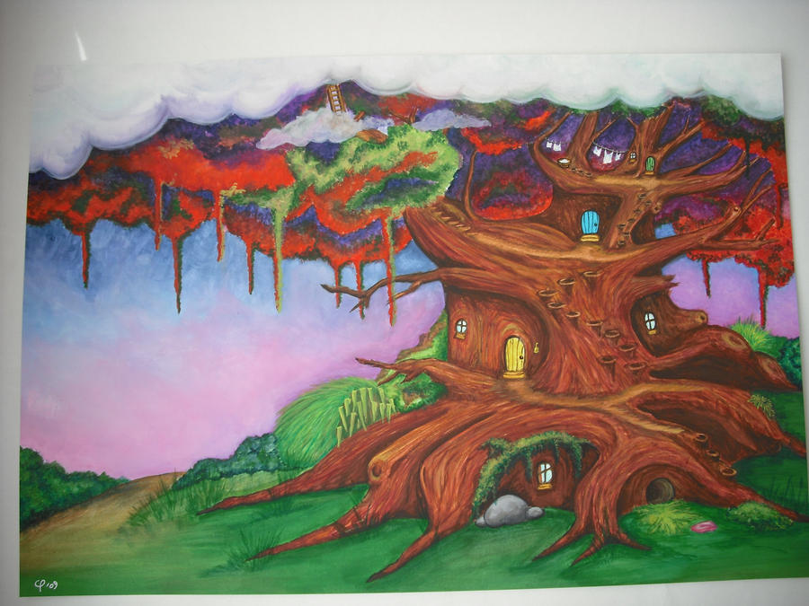far away tree