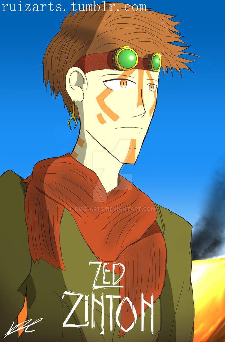 Zed Zinton OC by Ruiz-ARTS