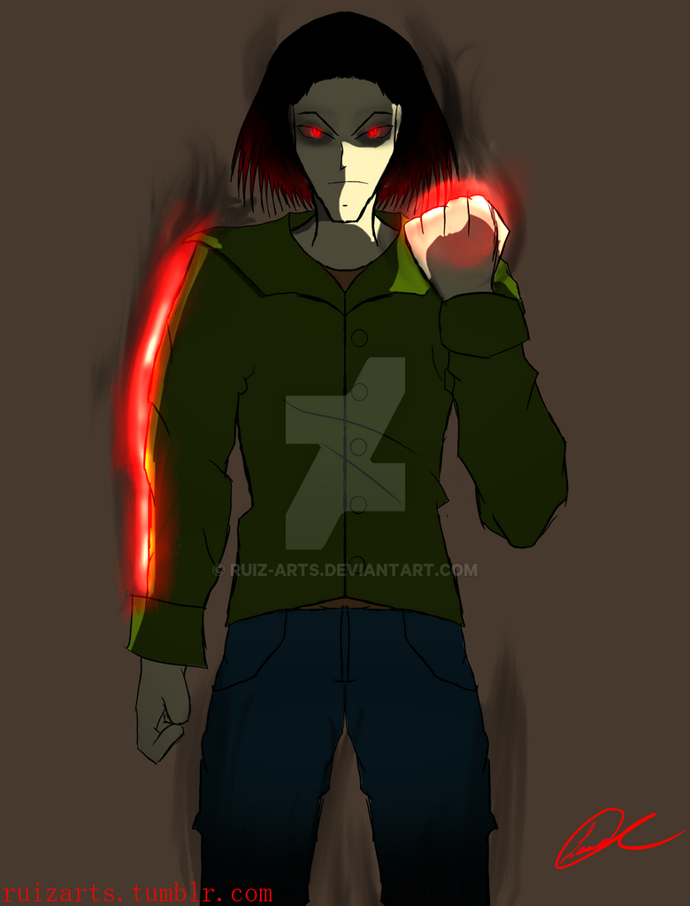 Powers 3: Red Bolt by Ruiz-ARTS