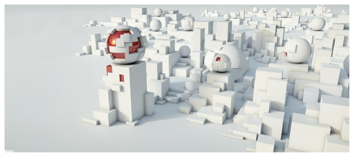 Spheres and cubes by spawn00000