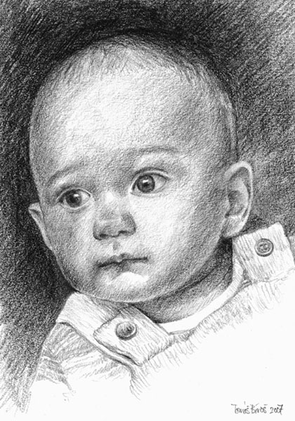 Portrait - Vojtisek by Konf