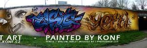 graffiti production KONF.cz