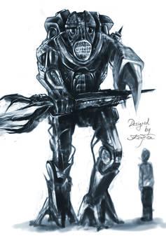 robot creature