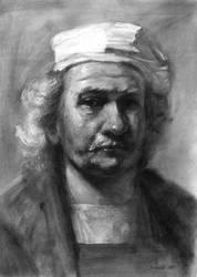 Rembrandt-portret by Konf