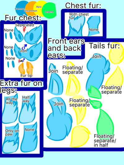 2nd rarity guide for flingleens(CLOSE) by Perma-Fox
