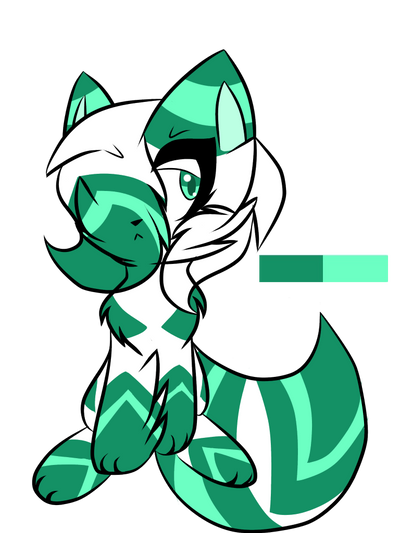Fox adoptable( only 50 points :v ) by Perma-Fox