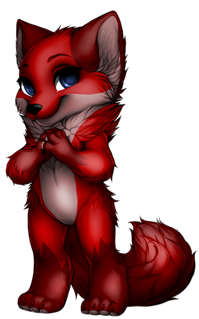 Scarlet paintie  by Perma-Fox