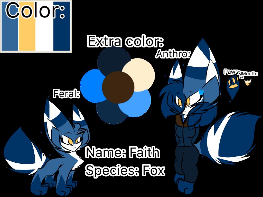Faith the fox (FINAL REDESIGN I SWEAR) by Perma-Fox