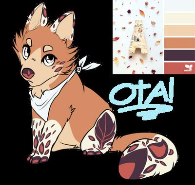 Wolf/Fox autumn leaf theme adopt (CLOSE) by Perma-Fox