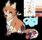 Wolf/Fox autumn leaf theme adopt (CLOSE)