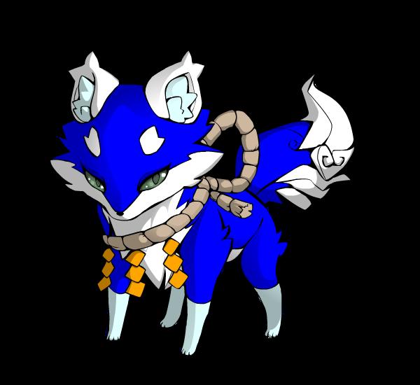 blue fox adopt! 15 points by Perma-Fox