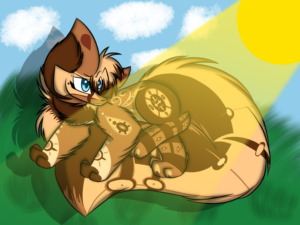 Sunshine lolypops  by Perma-Fox