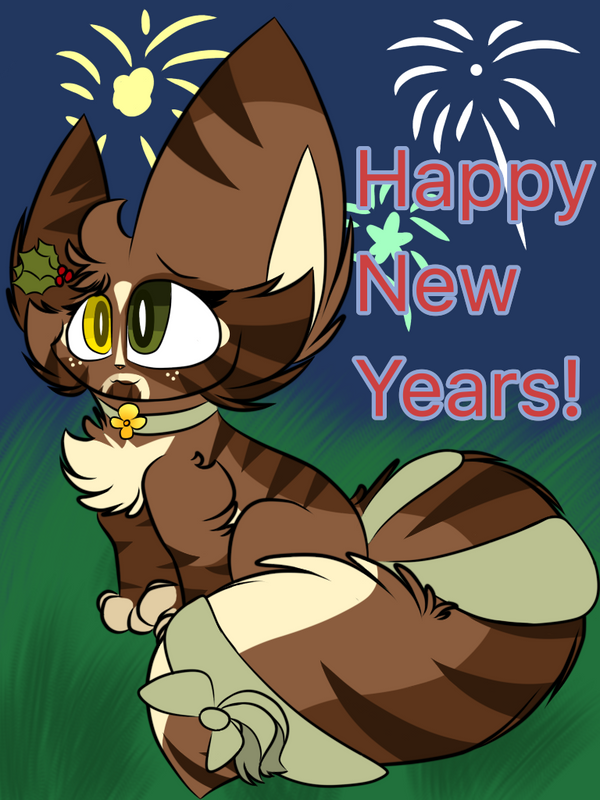 HAPPY NEW YEARS! by Perma-Fox