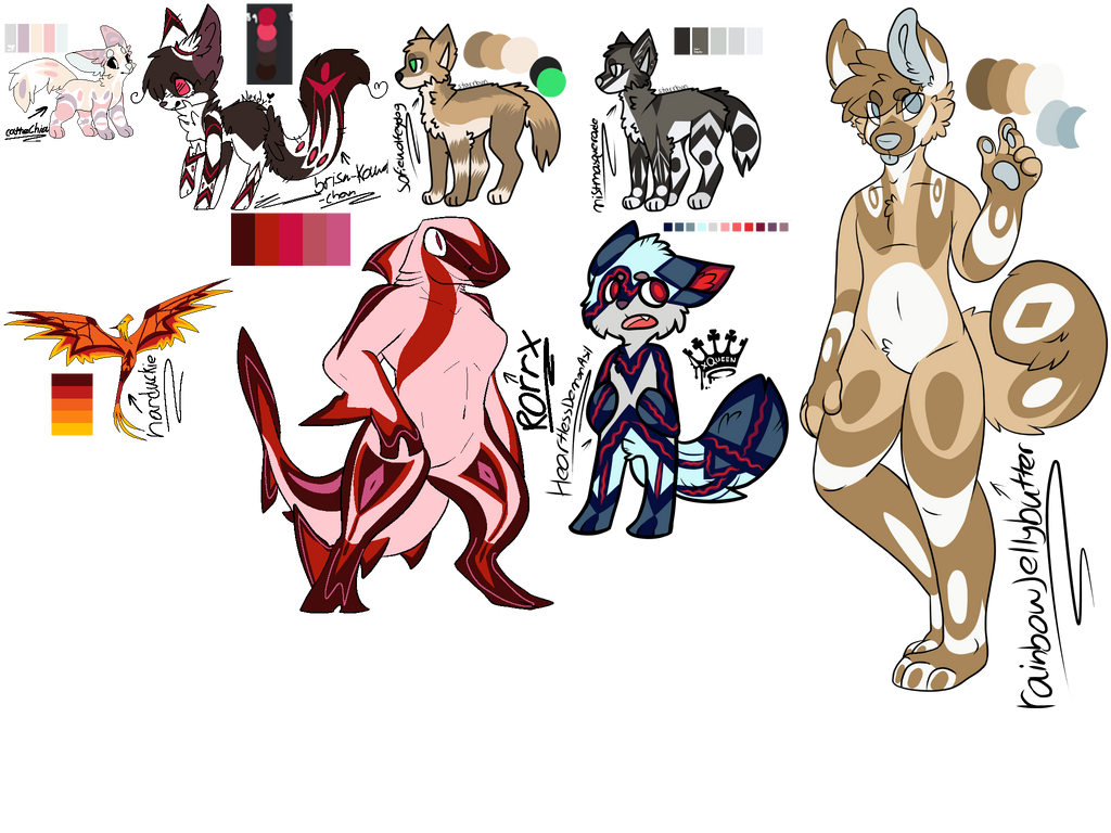 All free custom! (DONE) by Perma-Fox
