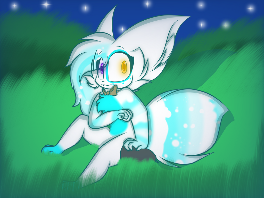 In the night sky (COM) by Perma-Fox