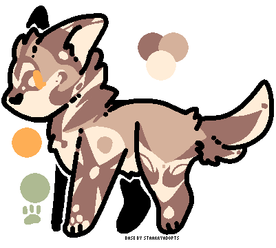 Doggo adopt ( FLAT SALE?) by Perma-Fox