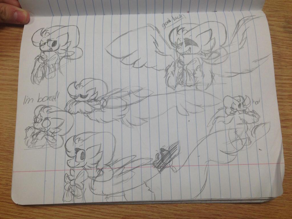 The many sketches of Eva  by Perma-Fox