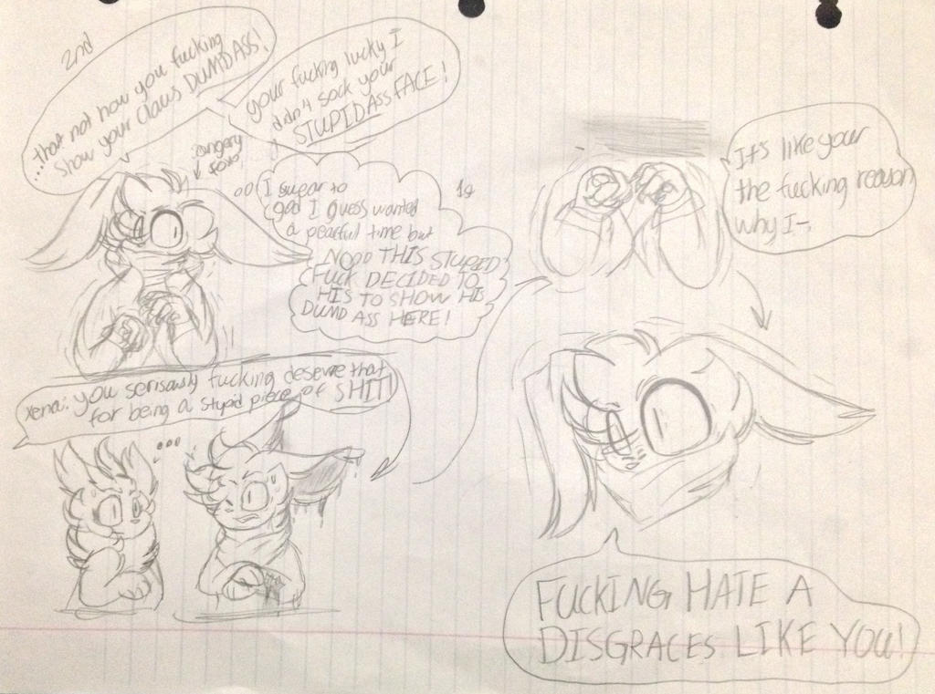SHIT SHE SNAP (comic collab) by Perma-Fox
