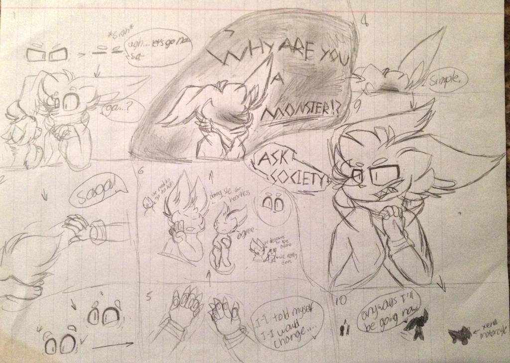 Simple. (Comic collab) by Perma-Fox