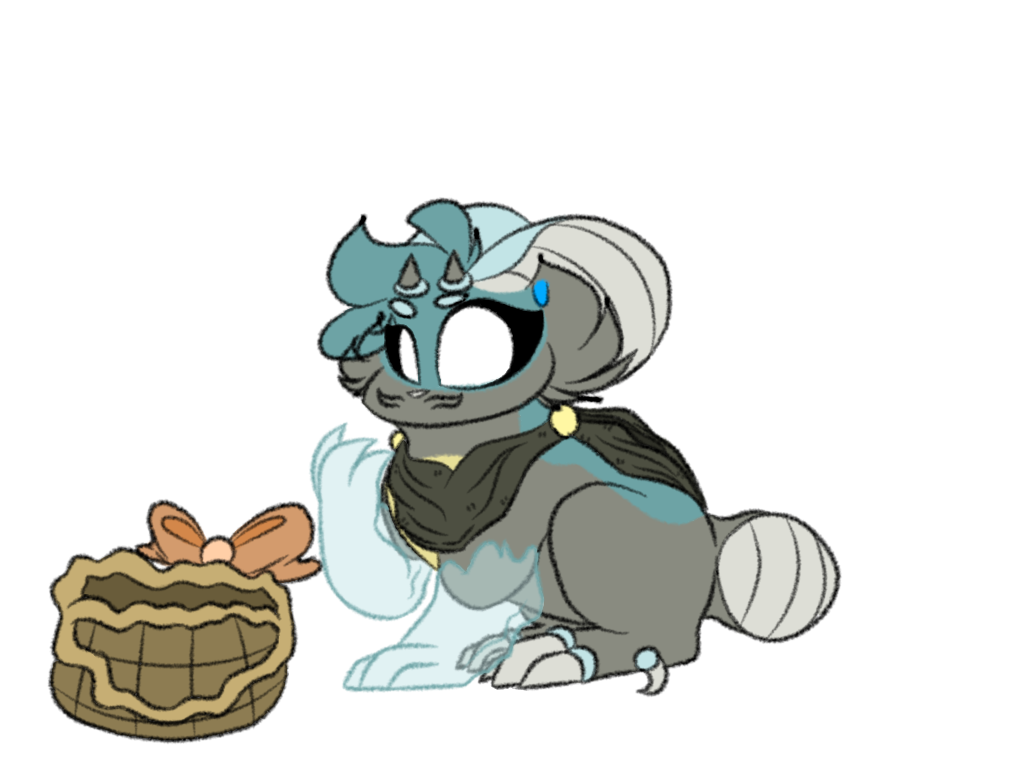 ...is this basket possessed? by Perma-Fox