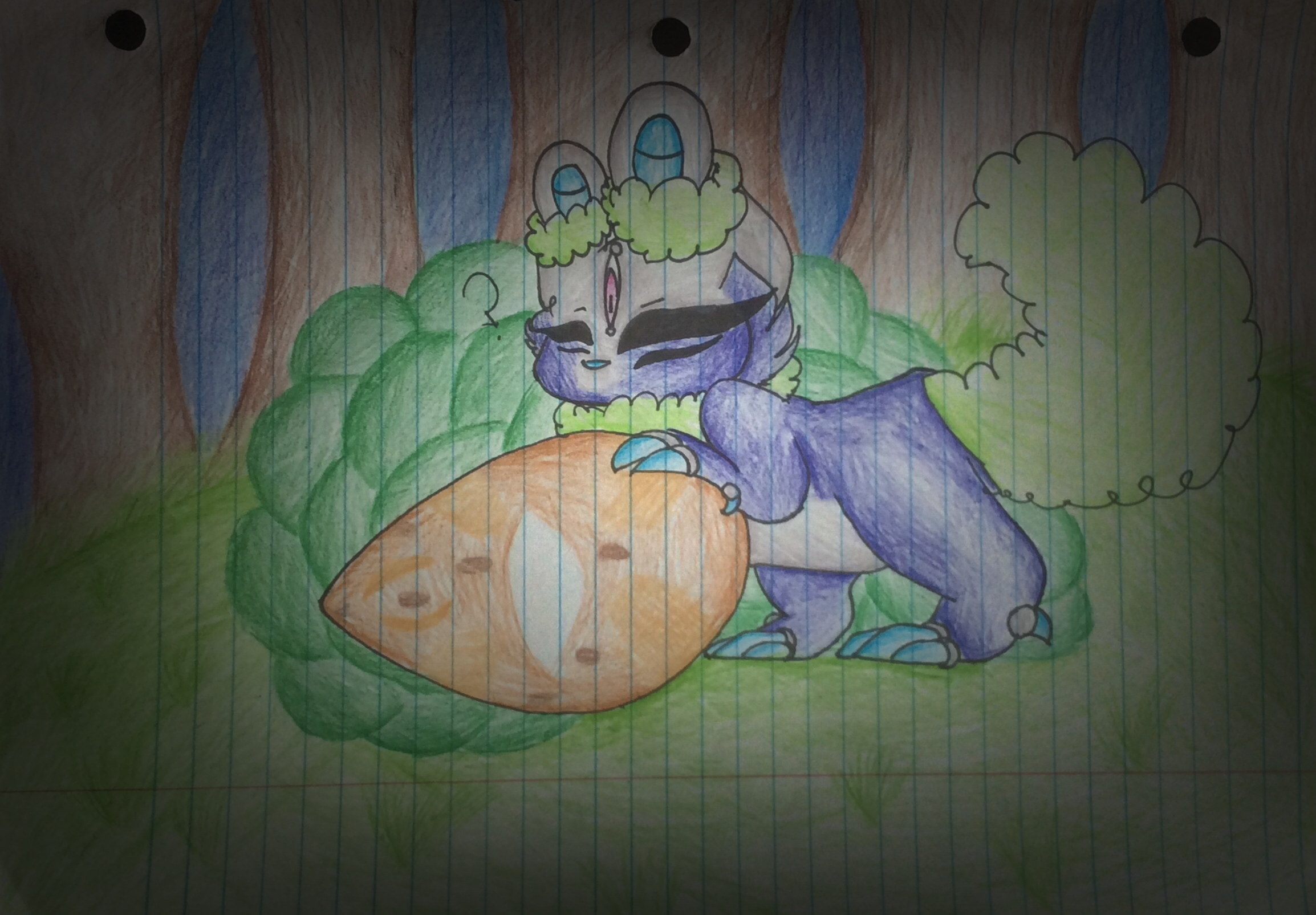 I FOUND AN EGG! (STORY ADDED) by Perma-Fox
