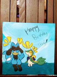 Happy birthday cody! by Perma-Fox