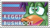 Reggie - 1st stamp by The-real-Vega777