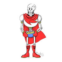Papyrus Sketch by The-real-Vega777