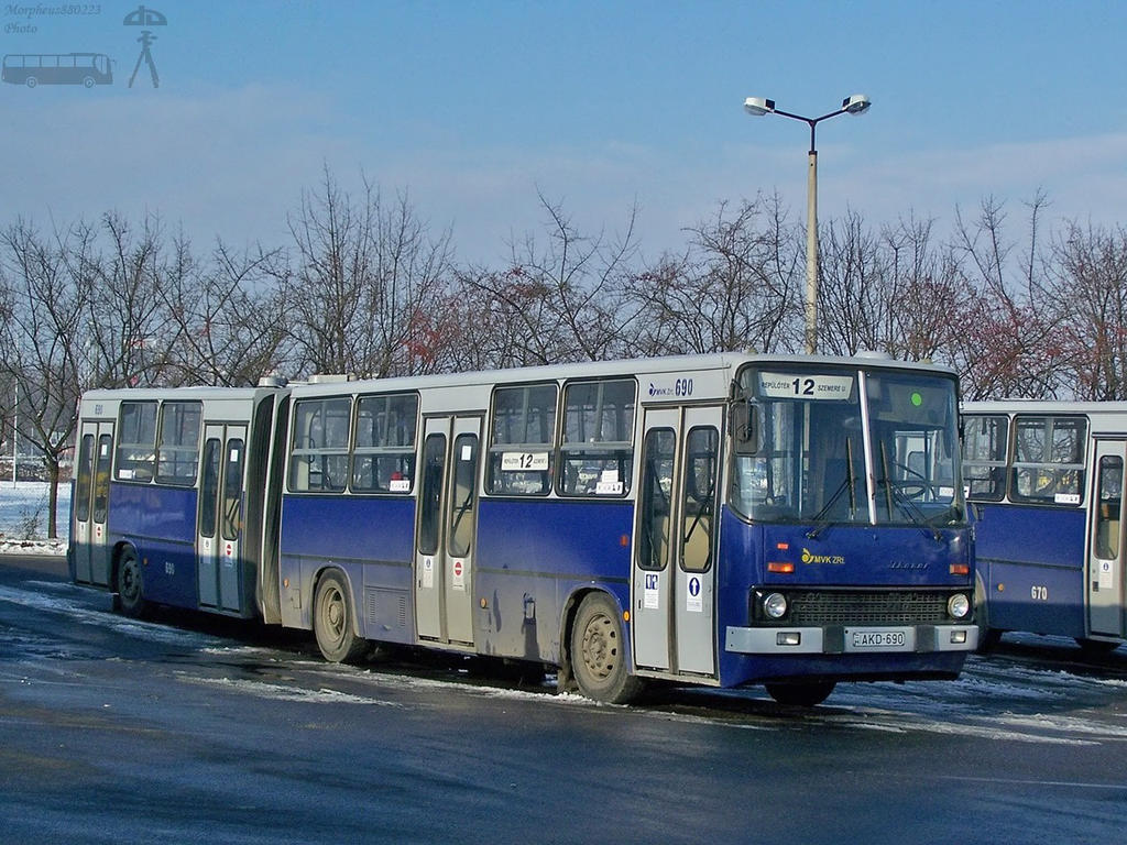 Ikarus 280 in Miskolc by morpheus880223