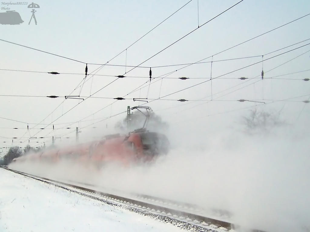 Railjet in snow - 2010 by morpheus880223
